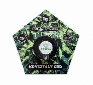 Kryształy CBD 99,5% - 1g