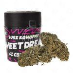 Susz konopny CBD 4,5% - 1g Sweet dreams