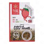 Susz konopny CBD 6% - 0,5g Strawberry