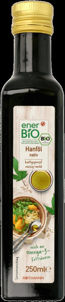 BIO Olej konopny w butelce