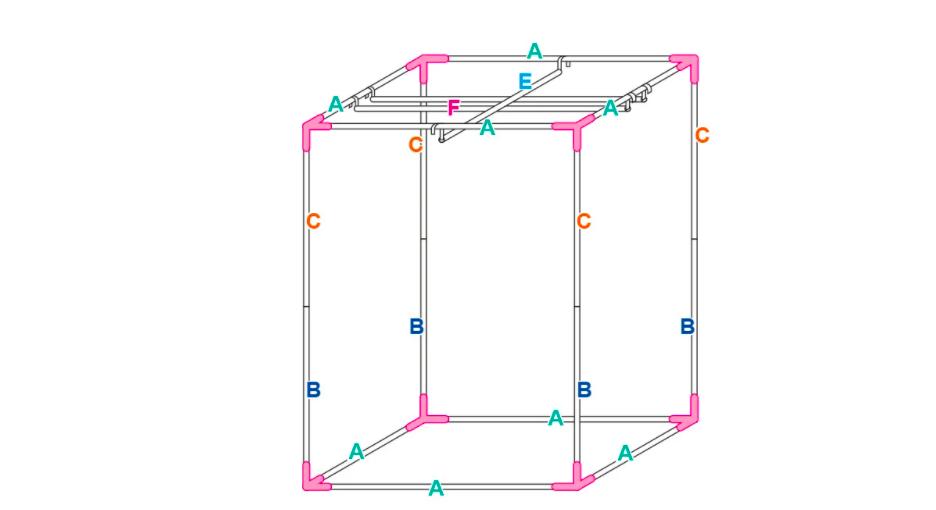 Growbox - budowa stelaża i konstrukcja